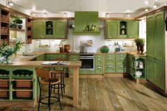 Deco Home Mutfak Dolabı Antik Yeşil