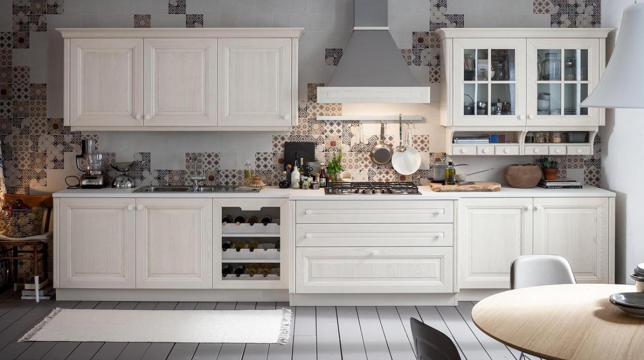 Deco Home Mutfak Dolabı Antik Beyaz