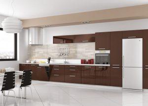 Deco Home Mutfak Dolabı Modern Kahverengi
