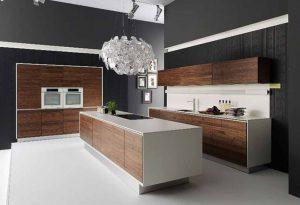 Deco Home Mutfak Dolabı Koyu Meşe