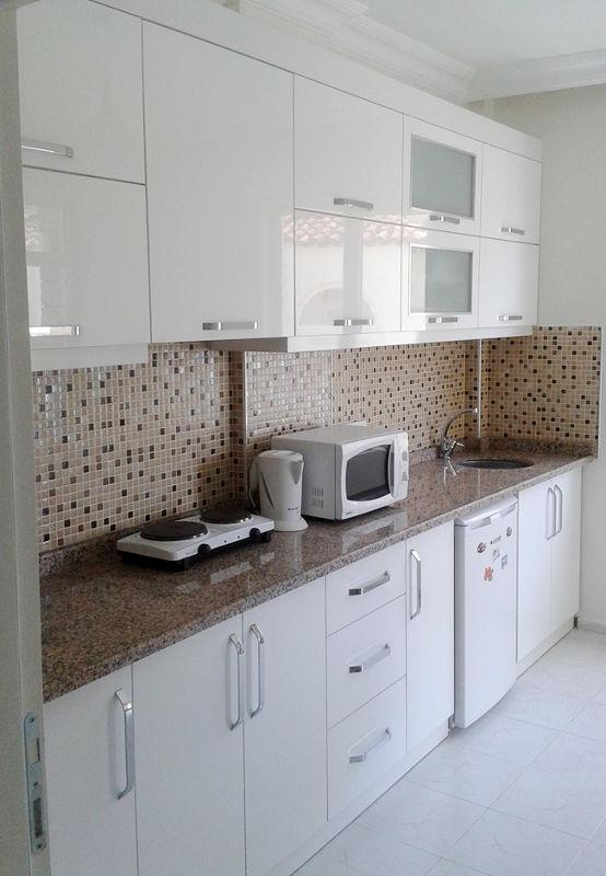 Deco Home Mutfak Dolabı Parlak Beyaz