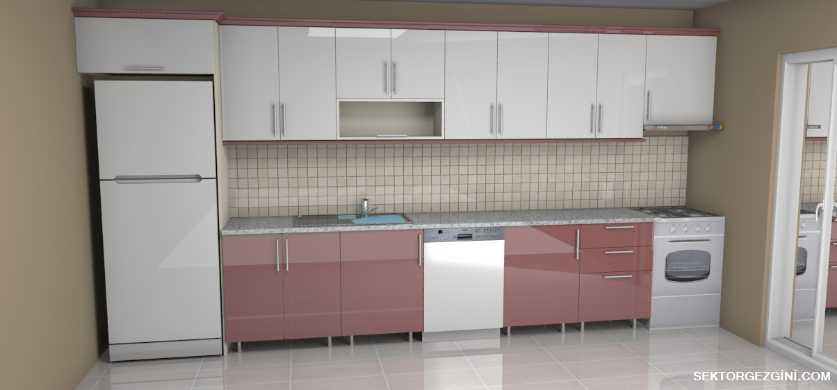 Deco Home Mutfak Dolabı Beyaz