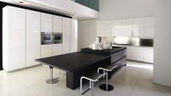 Deco Home Mutfak Dolabı Modern Retro Kulpsuz Beyaz